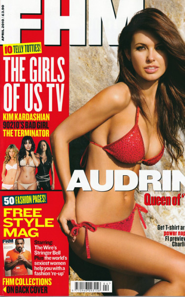 Audrina Patridge FHM Cover