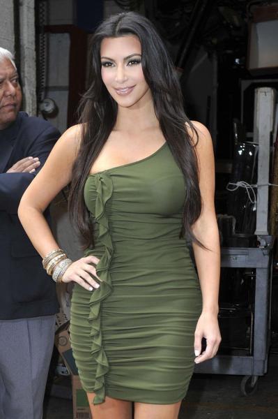Kim in Green