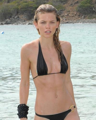 AnnaLynne in a Bikini