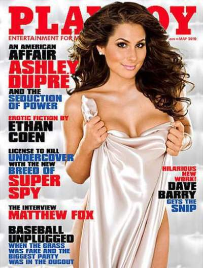 Ashley Dupre Playboy Cover