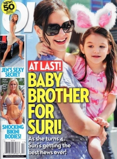 Baby Brother For Suri!