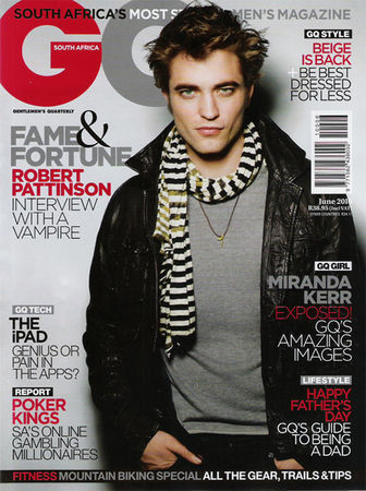 South Africa GQ Cover