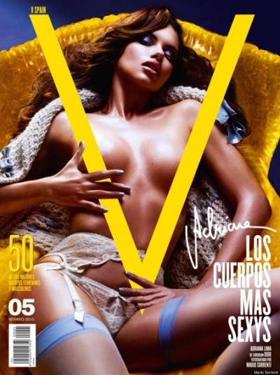Topless for V