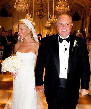 Rush Limbaugh with beautiful, Wife Kathryn Limbaugh