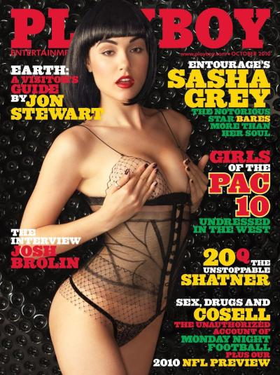 Sasha Grey Playboy Cover