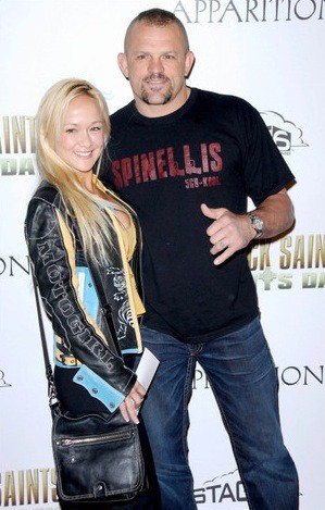 Chuck Liddell and Heidi Northcott