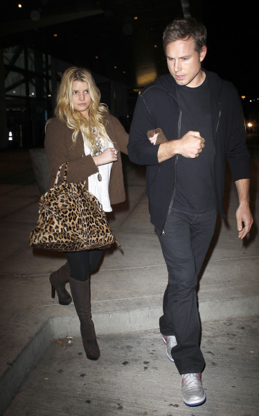 Jessica Simpson, Eric Johnson Pic