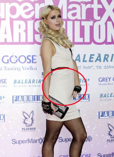 Paris Hilton Baby Bump?