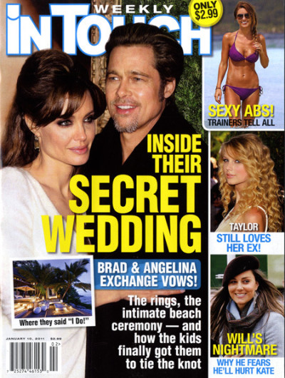 Angelina Jolie and Brad Pitt Get Married!