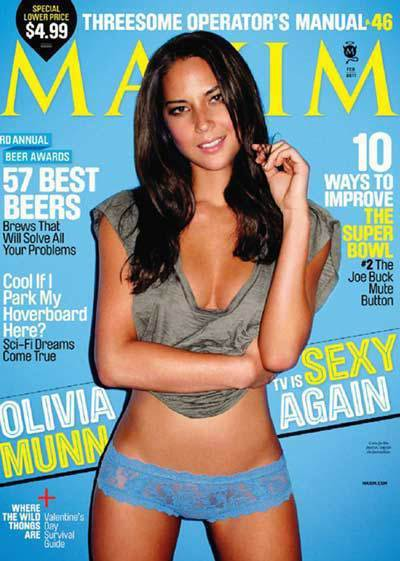 Olivia Munn for Maxim