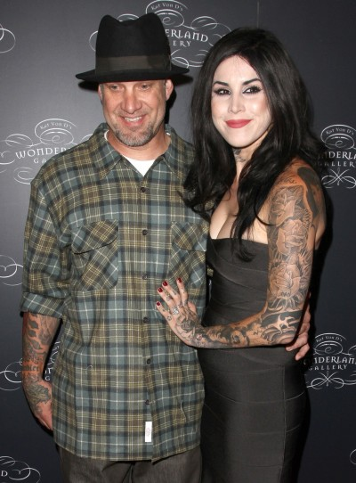 Kat Von D and Jesse James Picture
