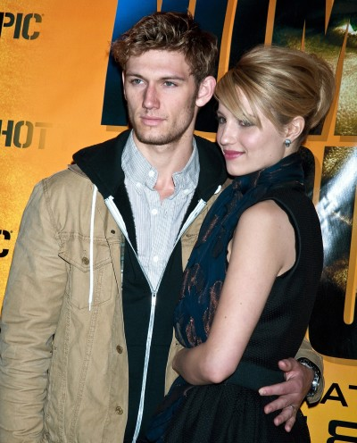 Dianna Agron and Alex Pettyfer