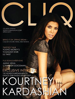 Cliq Magazine Cover