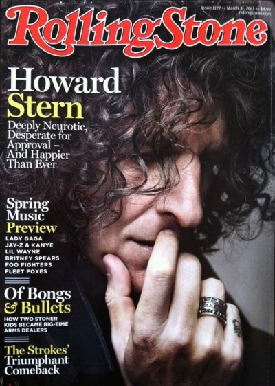 Howard Stern on Rolling Stone