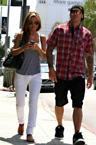 Audrina and Corey Photo
