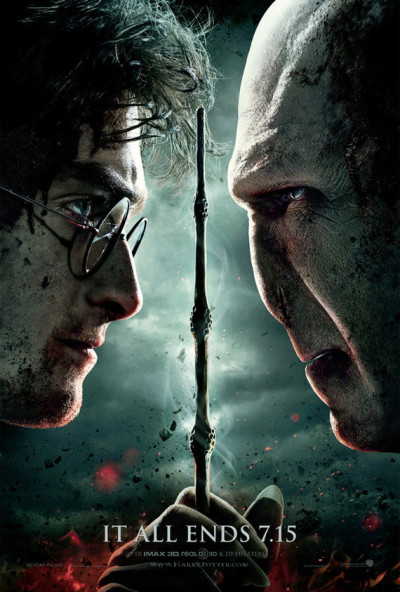 Final Harry Potter and the Deathly Hallows Poster