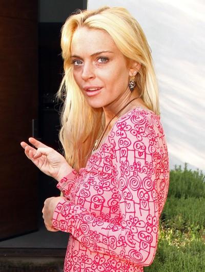 Lindsay Lookin' ROUGH