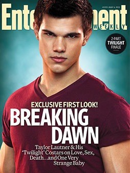 Taylor Lautner EW Cover