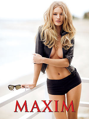 Rosie Huntington-Whiteley in Maxim
