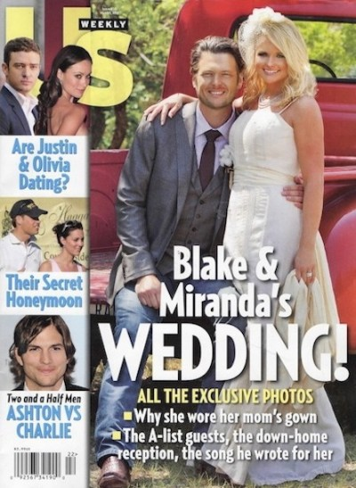 Miranda Lambert Wedding Dress