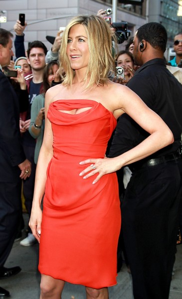 Aniston in Action