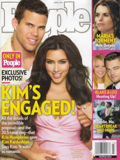 Kim Kardashian People Magazine Cover