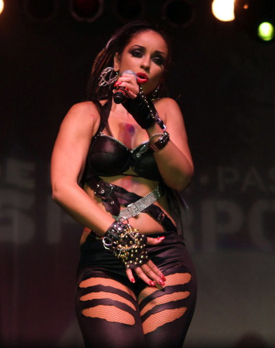 Mya on Stage