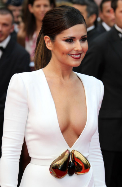 Cheryl Cole Cleavage Shot