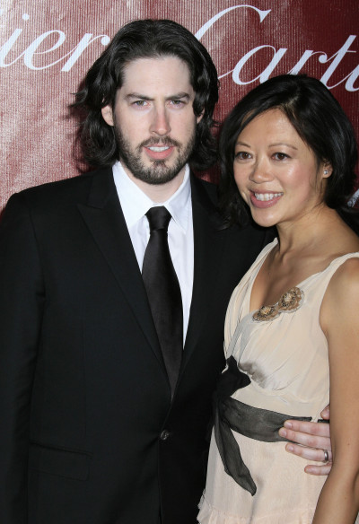 Jason Reitman and Michelle Lee