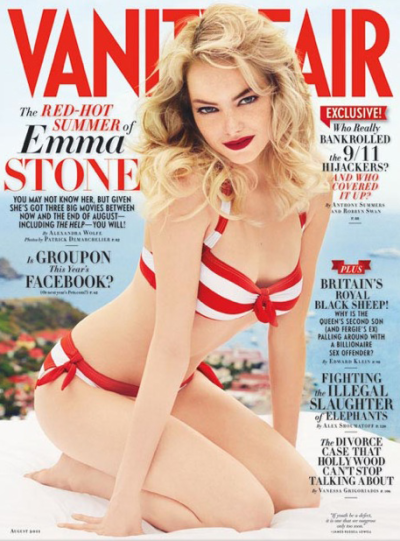 Emma Stone Vanity Fair Cover