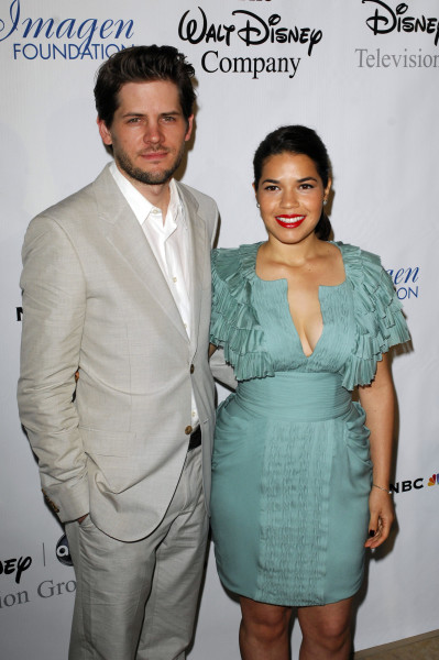 America Ferrera and Ryan Piers Williams Pic