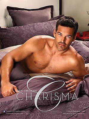Eddie Cibrian Charisma Ad