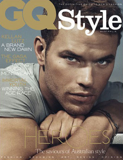 Kellan Lutz GQ Cover