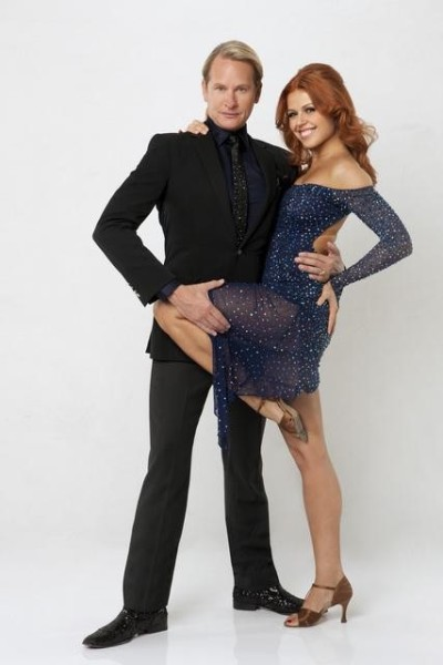 Carson Kressley and Anna Trebunskaya