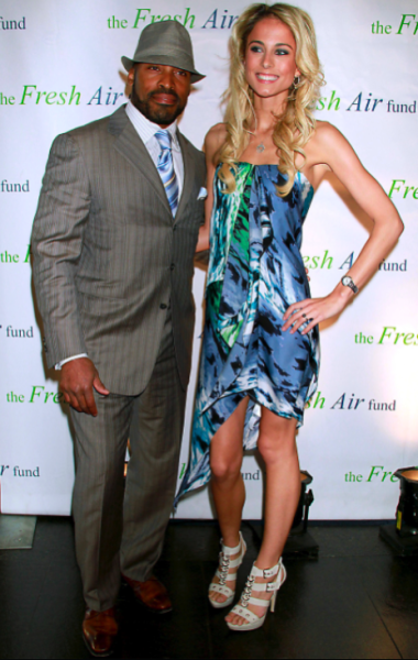 Tiki Barber, Girlfriend