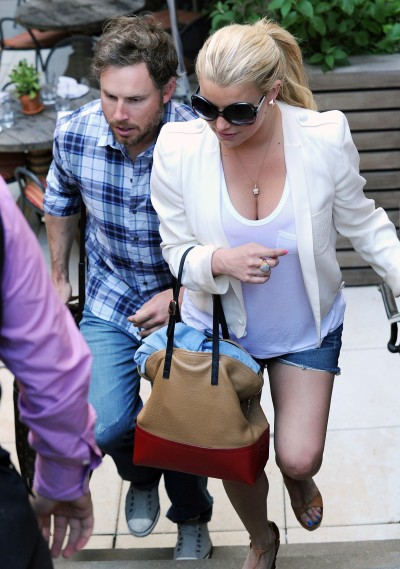 Jessica Simpson, Eric Johnson Picture
