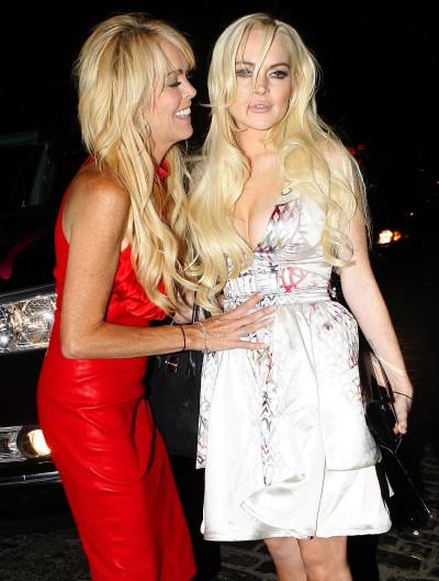 Dina and Lindsay Pic
