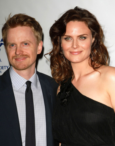 Emily Deschanel and David Hornsby