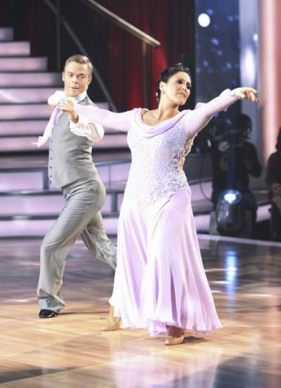 Ricki Lake, Derek Hough Picture