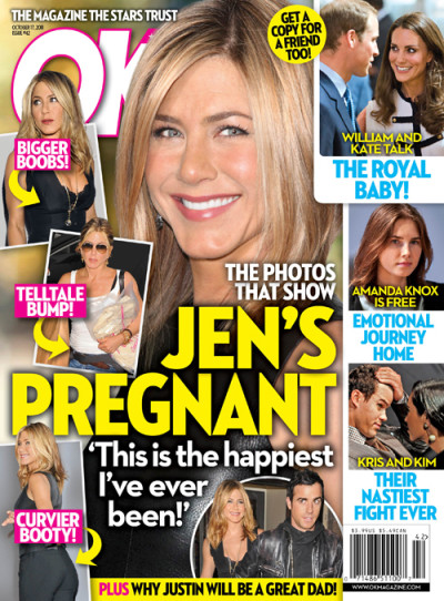 Aniston Pregnant!!!!!