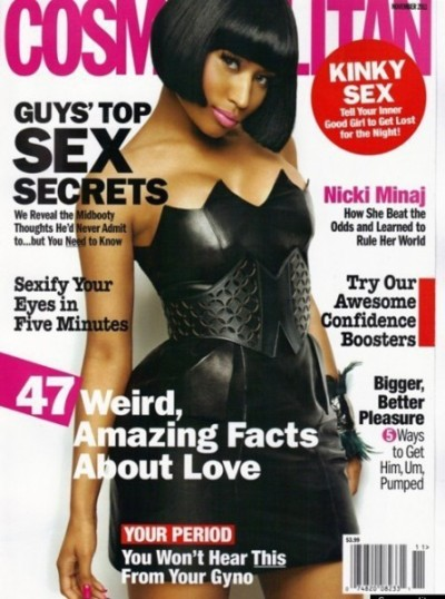 Nicki Minaj Cosmo Cover