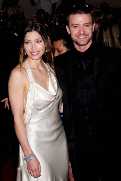Justin Timberlake and Jessica Biel Pic