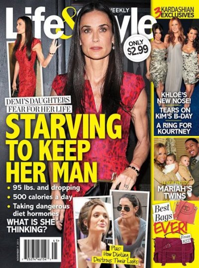 Demi Moore: So Hungry!