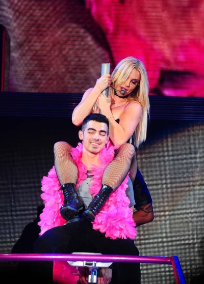 Britney Spears and Joe Jonas
