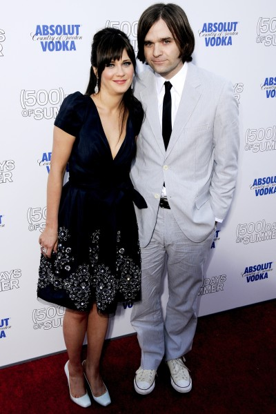Zooey Deschanel and Ben Gibbard