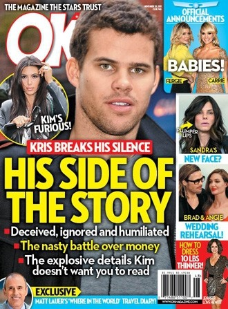 Kris Humphries Tabloid Cover