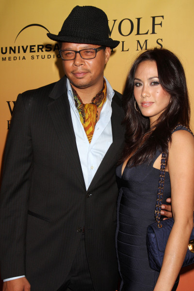 Terrence Howard and Michelle Howard