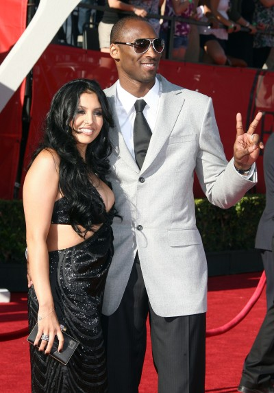 Kobe Bryant, Wife Vanessa Bryant