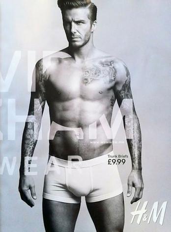 H&M David Beckham Underwear Ad