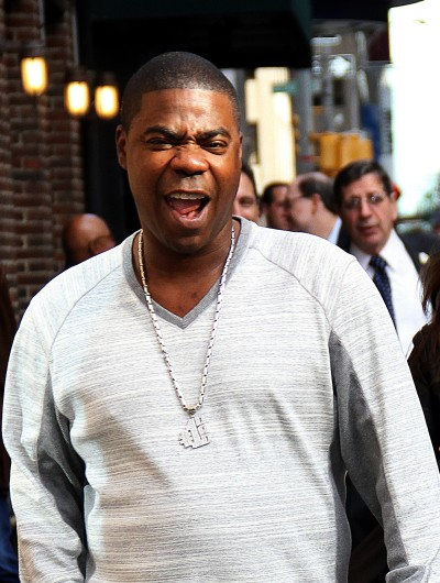 Zany Tracy Morgan